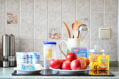 Sonntagsbeschäftigung: Bratapfelkuchen