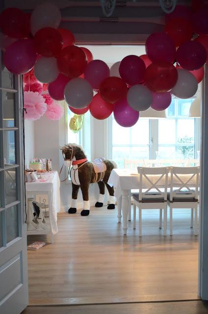 Kindergeburtstag Pferde Deko