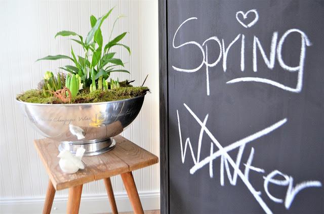 Frühlingserwachen und Raumteiler Ideen