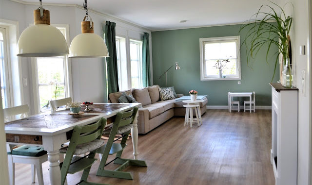"""Mi(n)teinander wohnen"""" oder Ideen fürs Wohnzimmer in mint ..."""