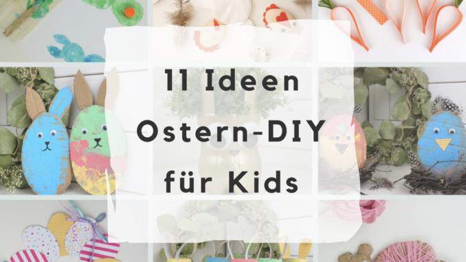 Osterdeko Basteln Mit Kindern 11 Ideen Zum Nachmachen Deko Hus