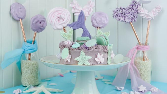 Ideen Meerjungfrauen Geburtstag Torte Und Einladung Deko Hus
