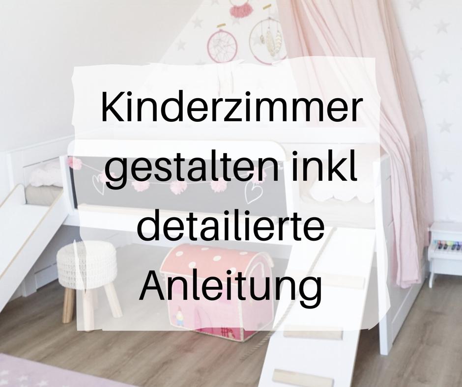 Kinderzimmer einrichten und ein DIY anzeige