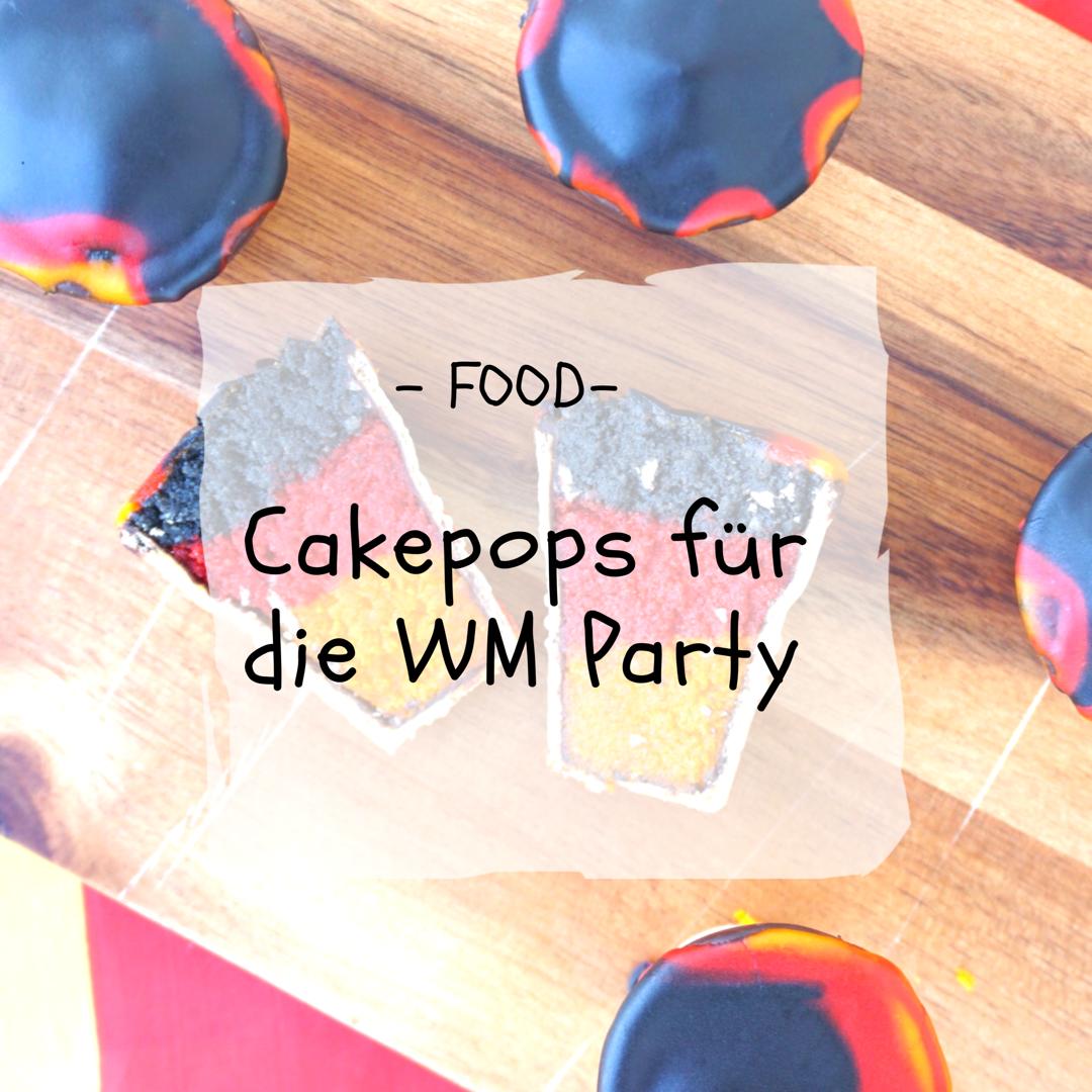 Cakepops für die WM Party selber machen