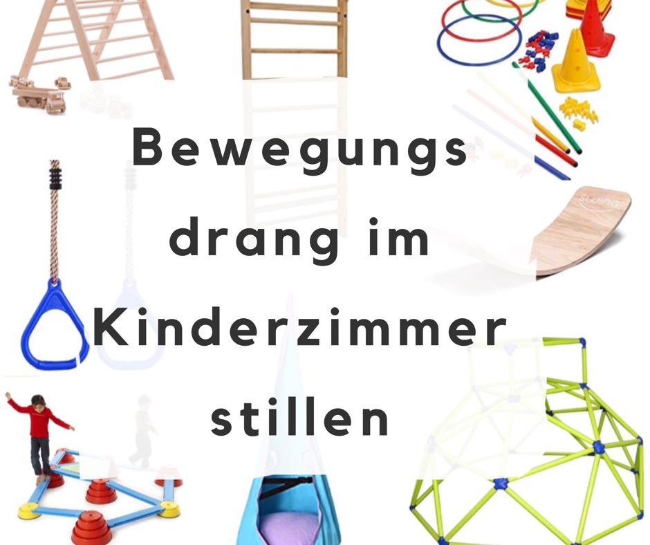Bewegung fördern bei Kindern im Kinderzimmer