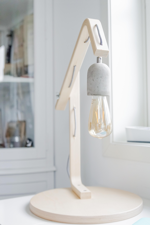 Ikea Hack Frosta Hocker Wird Zur Lampe Deko Hus