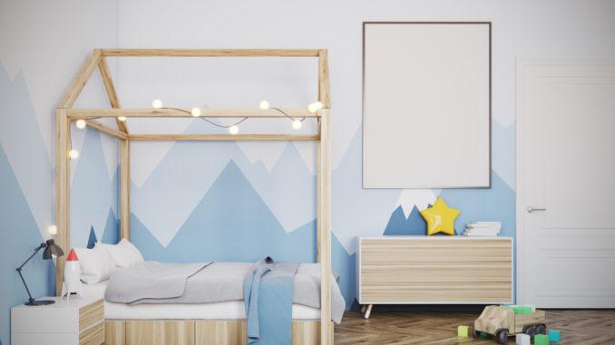 Girlande fürs Kinderzimmer selber machen - Deko-Hus