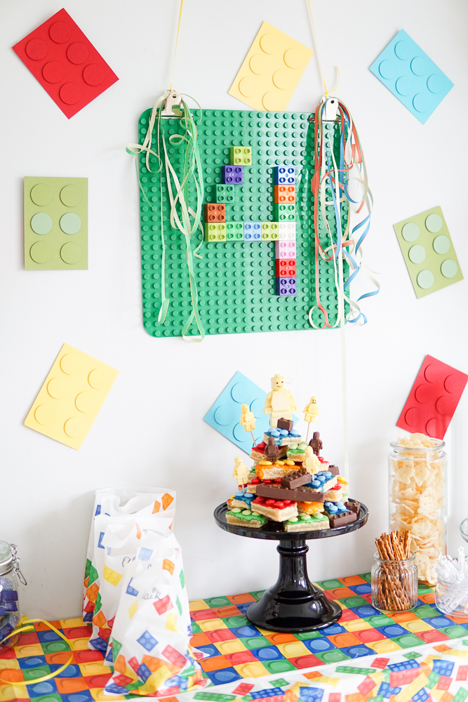 Lego Geburtstag Deko