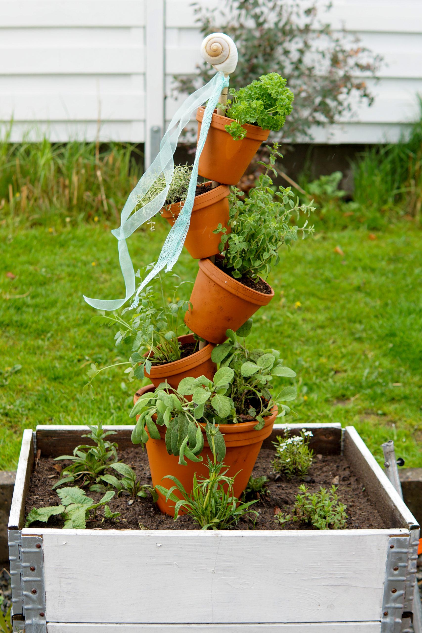 Gartendeko selber machen   Deko Hus